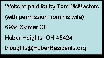 Disclaimer - Website paid for by Tom McMasters
