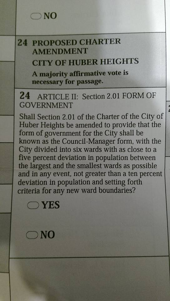 Issue 24 ballot language