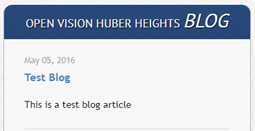 Blog test message from May 2016 still there July 2017