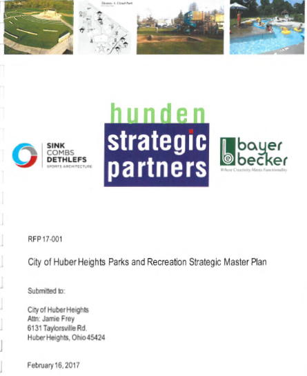 Hunden Bid for Huber Heights Parks and Recreation Master Plan