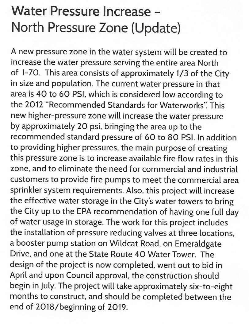 North Pressure Water Zone Article