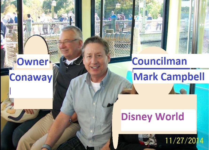 Campbell Conaway Disney 2014