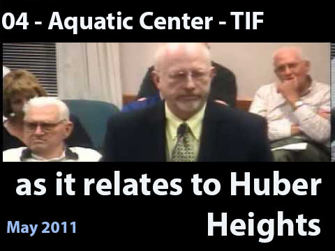 Steve Stanley provided many presentations to the Huber Heights City Council explaining TIF funds as they relate to Huber Heights. (This is the same video and article as found in in the TIF section 02 -Tax Increment Financing)<br />\n<br />\nHere is a copy of a similar presentation that came from the April 12th, 2011 Planning Commission Minutes;</a> This discussion starts the last paragraph on page 4.<br />\n<br />\nSteve Stanley stated he ran the Montgomery County Transportation Improvement District. He would explain how this project came about, and wanted to set the stage for any questions this Commission might have regarding the project. He explained that TID is a special purpose local government created by the Montgomery County Commission in 2001. Their primary purpose is to expedite and finance high priority transportation projects, and related development projects in communities in Montgomery County that had a significant economic development and quality of life potential. He stated that he has been the Director since 2001, and their first project was located in Huber Heights.<br />\n<br />\nMr. Stanley explained the partnership began officially in early 2002, and the top priority was to expedite and finance the intersections at SR 202 and SR 201. At that time, the City had been looking to upgrade the interchange at SR 202 which is a City bridge over the interstate highway, and therefore, was the City's responsibility to do so. SR 201 was on a schedule set by the Ohio Department of Transportation to be upgraded as a result of ODOT's desire to add additional lanes to I-70. Funds have been programmed for this, and the project was probably not going to just significantly impede local traffic going north and south on 201 without a real relief being provided because the 202 interchange was already overburdened and the bridge was not big enough, but it was also, at some point, likely going to shut down north/south traffic within the City with the only outlet being th