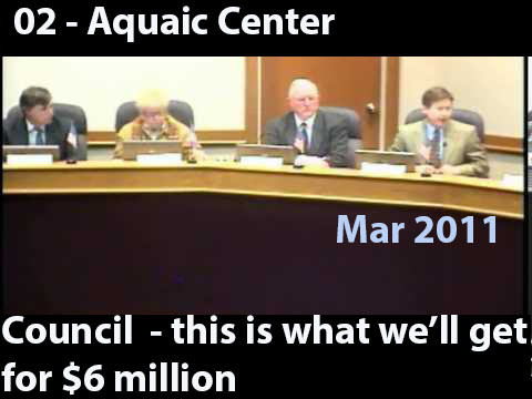 02 - Mark Campbell indicates cost of recreation facility will be about $6 million